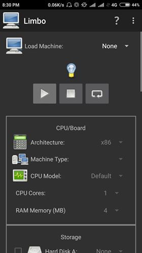 basic configuration for windows emulator for android