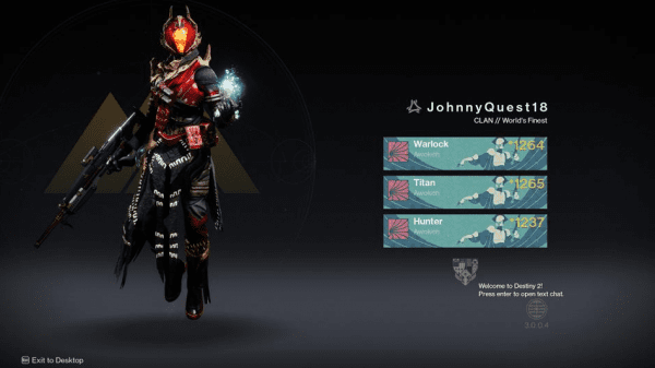 Character in Destiny 3