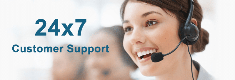 DSL Extreme has 24*7 customer support team